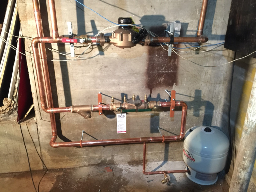 "1 1/2"" DCVA Backflow Preventer Installation"