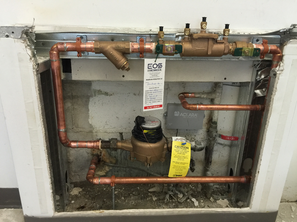 "1"" DCVA Backflow Preventer Installation"
