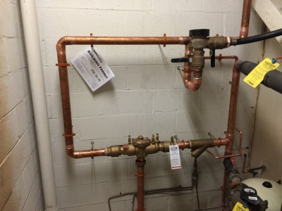 "2"" RP Backflow Preventer Installation"