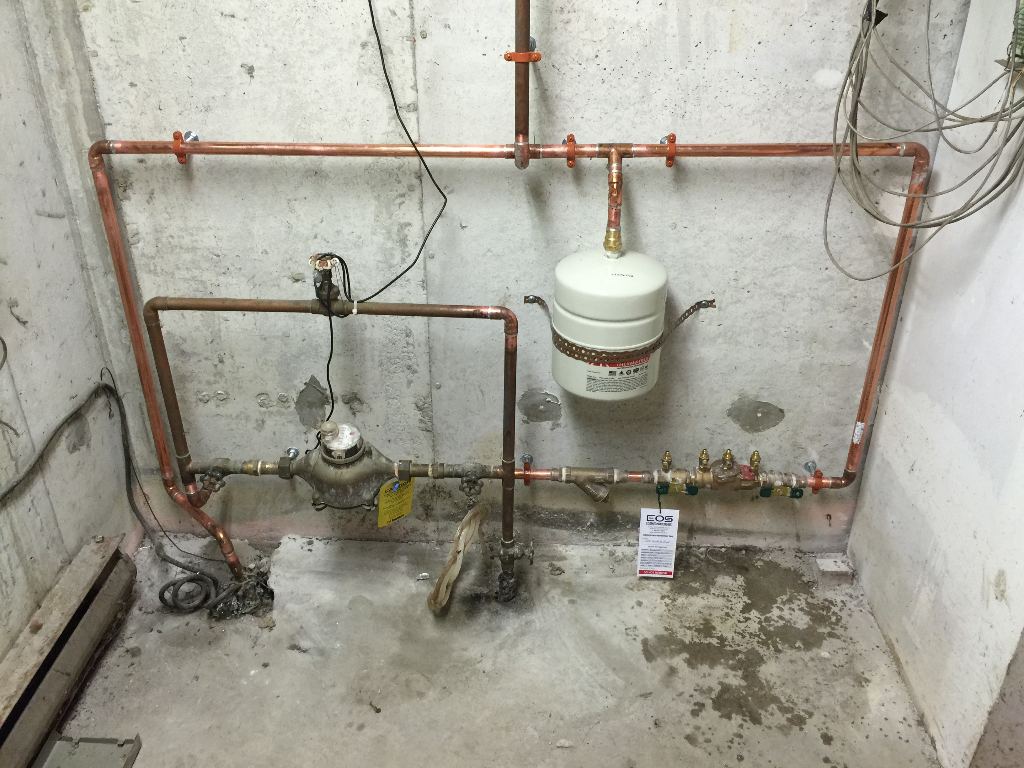 "3/4"" DCVA Backflow Preventer Installation"