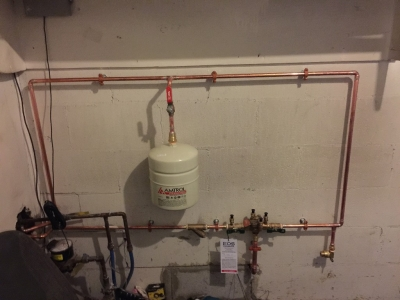"3/4"" RP Backflow Device Installation"